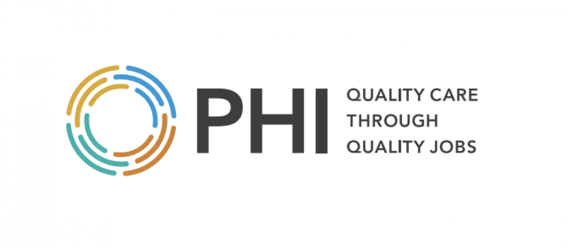 PHI logo for family caregiver article